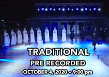 TRADITIONAL - Pre Recorded Live with DVR